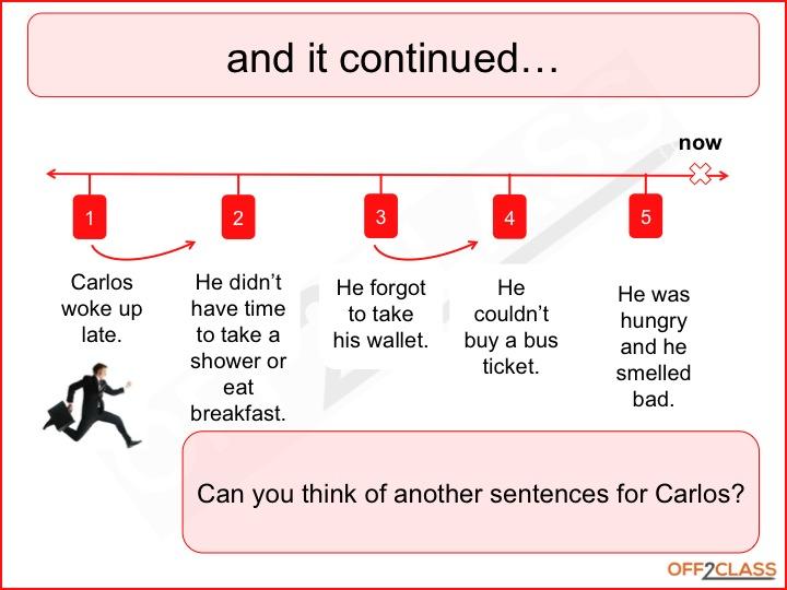 past tense verb worksheet
