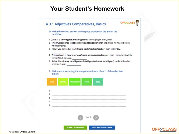1 on 1 online tutoring. anywhere. anytime.