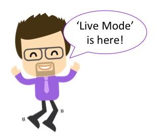 'live mode' classroom