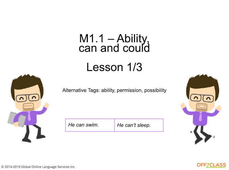 A1 beginner ESL lessons