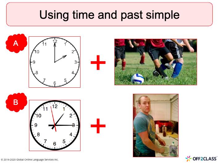 teaching the past simple tense